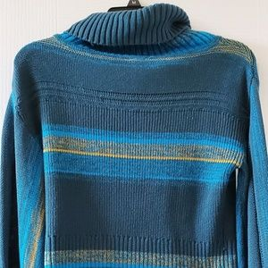 Free People Close to Me Striped Pullover Sweater